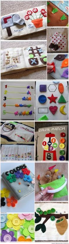gum ball machine - Quiet Book Patterns & Ideas by carmella Diy Quiet Books, Baby Quiet Book, Felt Quiet Books, Baby Crafts, Felt Crafts, Diy And Crafts, Sewing For Kids, Diy For Kids, Crafts For Kids
