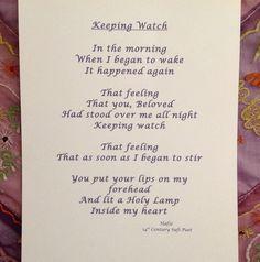 This poem grips my heart, it's so true.  Hafiz Poem (14th century Sufi poet)