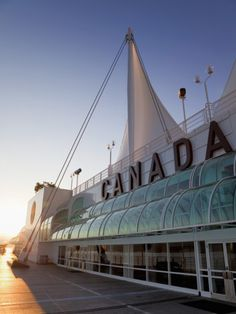 Canada Place, Waterfront Downtown Vancouver, British Columbia, Canada