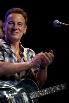 Bruce Springsteen, somewhere in time.