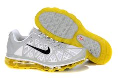 reputable site 9f236 ee46e Buy New Womens Nike Air Max 2011 Pure Platinum Sonic Yellow White  Anthracite Sneakers Running Shoes Store