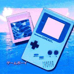 The Junt Manne. Old school game boy color in psychedelic colors. New Retro Wave, Retro Waves, Game Boy, Shizuka Joestar, Cyberpunk, Vaporwave Art, Pokemon, 80s Aesthetic, School Games