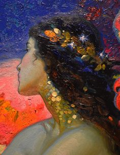 Victor Nizovtsev 1965 Symbolism Fantasy painter - Victor Nizovtsev b 1965 Symbolism Fantasy painter with remarkable whimsy and colour understandin - Painting Inspiration, Art Inspo, Victor Nizovtsev, Wow Art, Mermaid Art, Aesthetic Art, Oeuvre D'art, Amazing Art, Fantasy Art