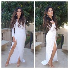 Leyla milanis hair and style is impeccable