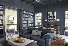 Transitional Office and Study in Dallas, TX by Emily Summers Studio 54