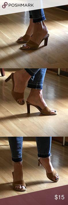 BR Suede Heels Sexy heel. Some wear. See pics. Banana Republic Shoes Heels