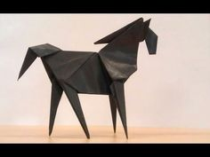 How To Make An Origami Horse - YouTube