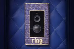 Tech company Ring has recently gained notoriety for offering a reliable and high-tech doorbell, and now the brand is upping the ante: a gem-studded luxury Sapphire Diamond, Diamond Rings, Diamond Jewelry, Ring Doorbell, Angel Wing Earrings, Diamonds And Gold, Most Expensive, Crown Jewels, Girls Best Friend