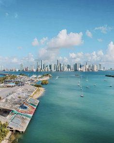 Downtown Miami, Miami Florida, Condos, Wonderful Places, New York Skyline, Cities, Journey, Swimming, World