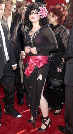 Kelly Osbourne in 2002! what a difference a decade makes! jeez