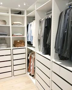 Designing Our Ikea Closet Might Kill Me. – Chris Loves Julia Designing Our Ikea Closet Might Kill Me. – Chris Loves Julia Pin: 768 x 960 Walk In Closet Ikea, Ikea Closet Hack, Ikea Pax Wardrobe, Closet Hacks, Wardrobe Room, Walk In Closet Design, Bedroom Closet Design, Master Bedroom Closet, Closet Designs