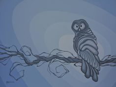 The Grey Ghost - Robbie Craig's Northern Projects Canadian Painters, Canadian Artists, Owl Pictures, Owl Pics, Canvas Prints, Art Prints, Aboriginal Art, Conceptual Art, Original Artwork