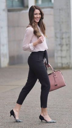197 best and stylish business casual work outfit for women – page 1 Classy Work Outfits, Office Outfits Women, Spring Work Outfits, Business Casual Outfits, Professional Outfits, Work Casual, Chic Outfits, Outfit Office, Office Wear