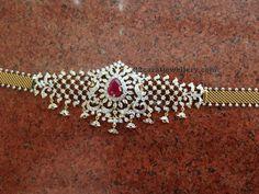 Diamond Choker and Tremendous Jhumkas