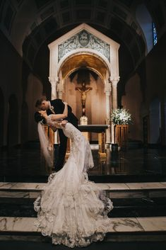bride with a beautiful gown. the photos look breathtaking! dress by essense of australia from houston bridal gallery (portrait) Church Wedding Catholic, Catholic Wedding Dresses, Church Dresses, Catholic Churches, Wedding Picture Poses, Wedding Poses, Wedding Pictures, Wedding Hair, Dream Wedding