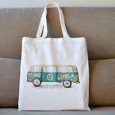 Vw Camper, Volkswagen, Shopping Bag, Reusable Tote Bags, Etsy Shop, Purses, Trending Outfits, Shoulder, Book