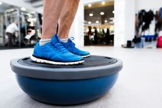 Close up of legs of senior man in gym standing on bosu balance ball and exercising as part of bodybuilding training Types Of Cardio, Balance Trainer, Chiropractic Treatment, Musculoskeletal System, Bosu Ball, Aerobics Workout, Bosu Workout, Senior Fitness, Fitness Life