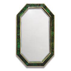 Palecek Savona Emerald Mirror