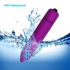Sekmet Waterproof 10-Frequency Portable Bullet Massager #BulletVibe #SexToy