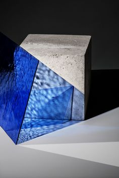 Irina & Victoria Collaboration I Light And Shadow Photography, Photography Lighting Setup, Glass Photography, Still Life Photography, Mountain Drawing, Blue Color Schemes, Design Museum, Light Art, Art Sketchbook