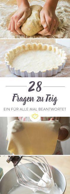 Du möchtest einen Kuchen backen, hast aber keinen Plan, wo du anfangen sollst? Muss die Butter mit dem Zucker verrührt oder verkneten werden? Kommen die Eier einzeln oder gleichzeitig in den Teig? Und (Basic Bake Cheesecake)