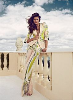Isabeli Fontana is a Golden Girl for Vogue Latin America's March Cover Shoot by Koray Birand   Fashion Gone Rogue: The Latest in Editorials and Campaigns
