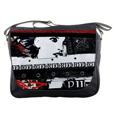 Punk Chick Messenger Bag