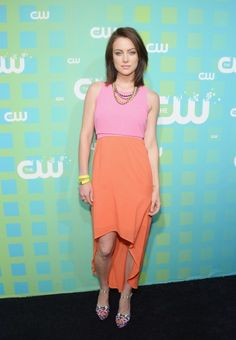 Jessica Stroup. Love her (stylist's) style both on 90210 and on the red (black) carpet