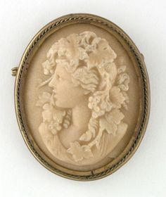 1890s Wonderful Large Victorian Carved Stone Relief Cameo Pin Brooch | eBay