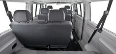 For those times when even 7 seats isn't enough, here is the answer.  The Volkswagen Caravelle has 9 seats, four of them with child seat attachments.  If you don't NEED all 9 seats all the time, you can easily remove some for more space!