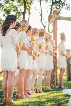 @April Jones and @Erin Sauter Wilson should we look for lacy dresses??
