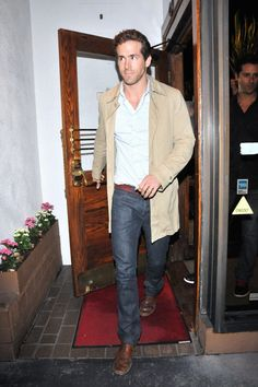 Ryan Reynolds Suede Jacket