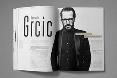 Magazine and Editorial Graphic Design Inspiration - MagSpreads: The Spreads of Nicolas Zentner