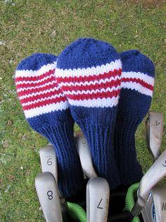Free Pattern Knit Golf Club Covers | Knitting Patterns ...
