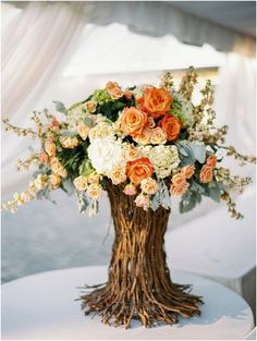 Peach and Coral Garden wedding | by JoPhoto | Megan Connors Floral and Styling