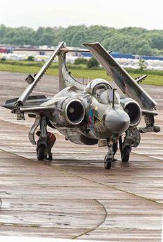 Blackburn Buccaneer Mk S2B - Bruntingthorpe 2015 Aircraft Parts, Fighter Aircraft, Fighter Jets, Military Jets, Military Aircraft, Ww2 Aircraft, Blackburn Buccaneer, War Jet, Royal Air Force