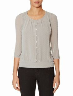 Textured Layering Top from THELIMITED.com #ItsTime #TheLimited