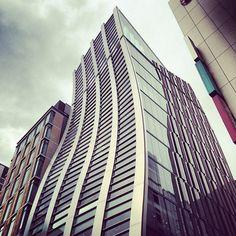 twisted building building skycraper http://instagram.com/p/XNzFvlH3t0/