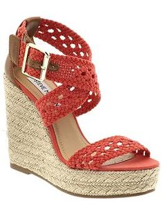 Steve Madden wedge sandals.......