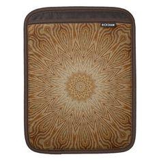 wooden star iPad sleeve