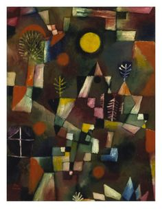 Full Moon, 1919 Giclee Print by Paul Klee at AllPosters.com