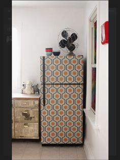 Fridge Skin Idea Http://mostakarom.hu #fridge #refrigerator #home