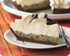 Mocha Mudslide Cream Pie - Limited Availability and other delicious groceries delivered to your door. #Schwans #FoodDelivery #IceCream