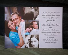 The Anchorage  Photo Wedding Invitations by BasicInvite on Etsy, $0.99