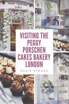 Visiting Peggy Porschen Cakes, London Great Places To Travel, Oh The Places You'll Go, Places To Eat, Cool Places To Visit, Eating Places, Bakery London, London Cake, Peggy Porschen Cakes, Paris Cakes