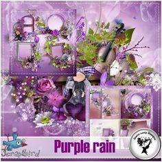 Purple rain Full Pack by Black Lady Designs
