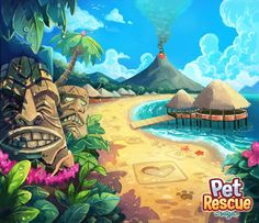 Pet Rescue Saga - Background Art on Behance