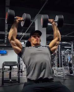 Big Back Workout, Boulder Shoulder Workout, Shoulder Workout Routine, Gym Workout Videos, Gym Workouts, Food Workout, Workout Men, Workout Routines, Workout Plans