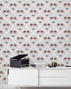 MINDTHEGAP is an eclectic brand that designs and manufactures premium home accessories. Of Wallpaper, Designer Wallpaper, Pattern Wallpaper, Modern Shop, Modern Art, Mural Wall Art, Ancient Symbols, Swansea, Interior Walls