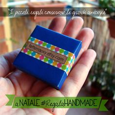 Recycled #paper (from shopping bags) + Washi tape = my little cute jewelry #box. :-) Perfect for a #Christmas gift!  #LetteraPsy #Natale #RegalaHandmade #packaging #wrappingideas